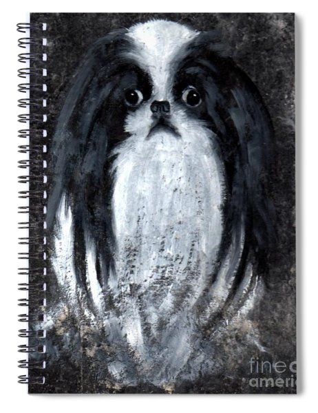 Japanese Chin Spiral Notebook
