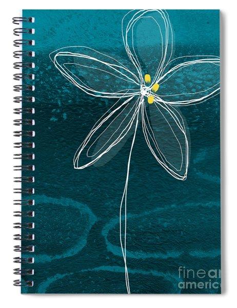Jasmine Flower Spiral Notebook