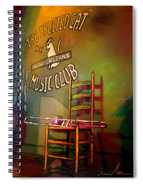 Jazz Break In New Orleans Spiral Notebook