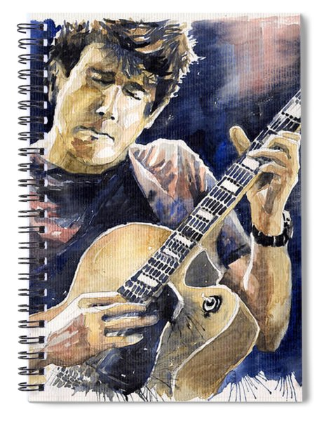 Jazz Rock John Mayer 06 Spiral Notebook