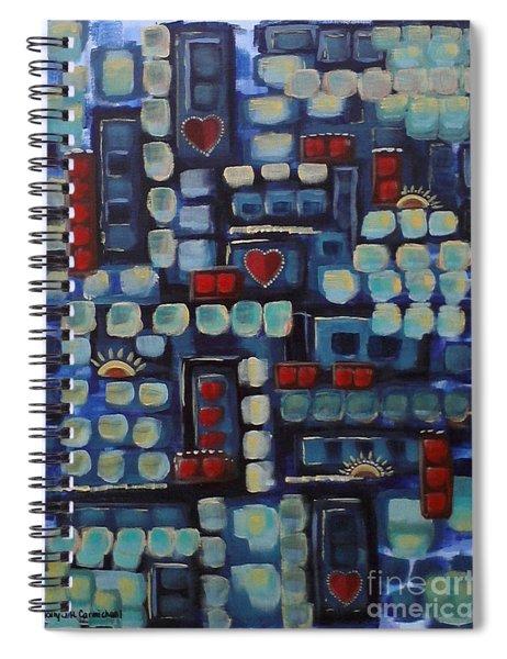 Jazzy Love Spiral Notebook