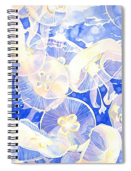Jellyfish Jubilee Spiral Notebook