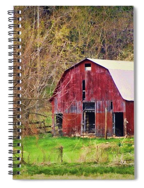 Jemerson Creek Barn Spiral Notebook