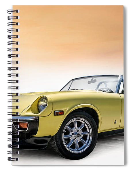 Jensen Healey Spiral Notebook