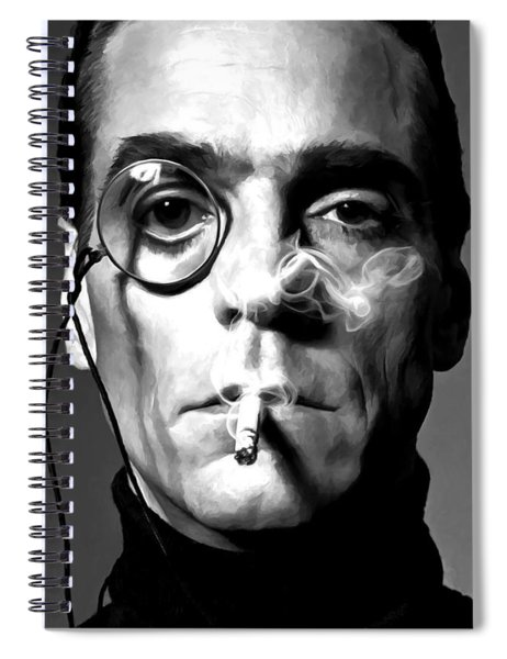 Jeremy Irons Portrait Spiral Notebook