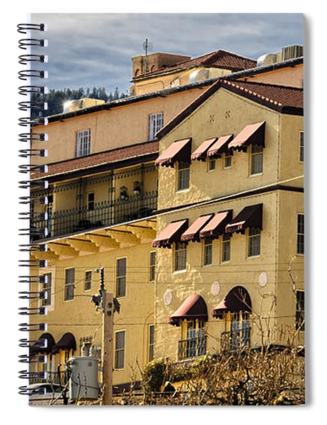 Jerome Grand Hotel No.18 Spiral Notebook