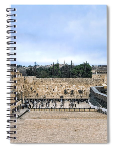 Jerusalem The Western Wall Spiral Notebook