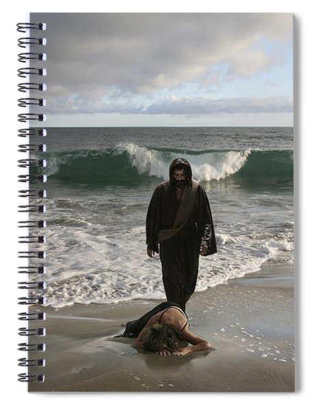 Jesus Christ- I Love You So Much Don't Cry I'm Here Spiral Notebook