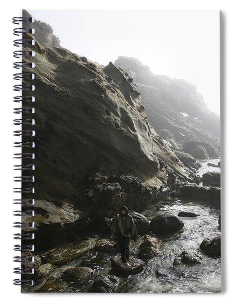 Jesus Christ In Angel Mist Spiral Notebook