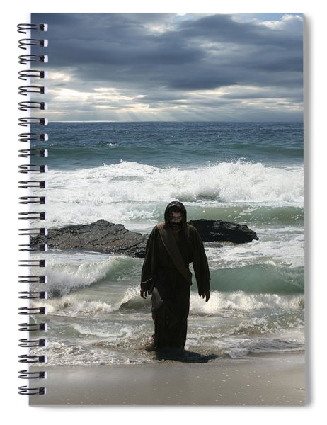 Jesus Christ- Look I Am Coming Soon Spiral Notebook