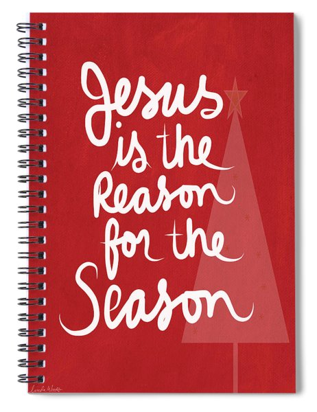Jesus Is The Reason For The Season- Greeting Card Spiral Notebook