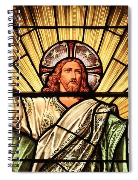 Jesus - The Light Of The Wold Spiral Notebook
