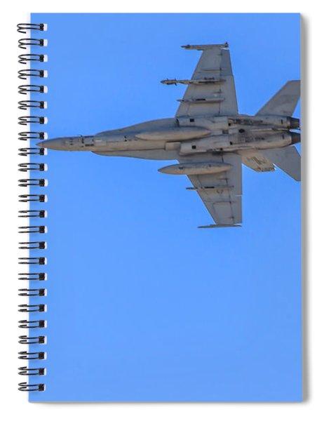 Jet Fighter Spiral Notebook