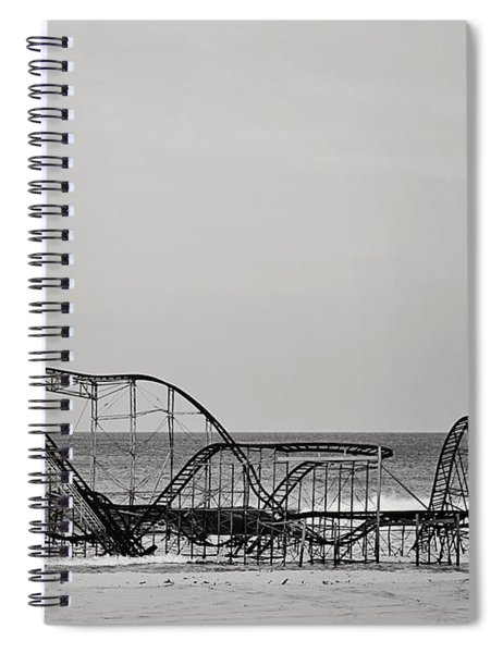 Jet Star  Spiral Notebook