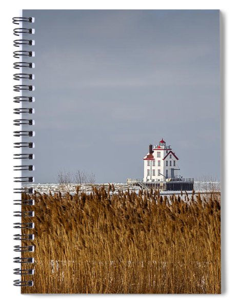 jewel of the Port Lorain Lighthouse Spiral Notebook