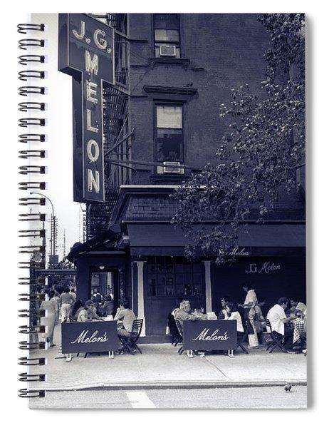 J.g. Melon - Manhattan  Spiral Notebook