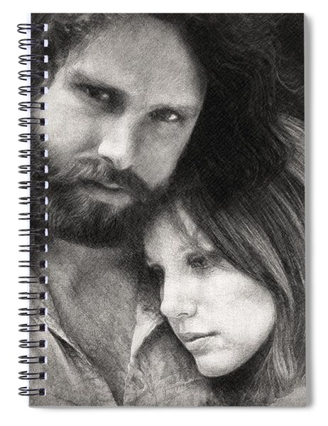 Jim And Pam Spiral Notebook