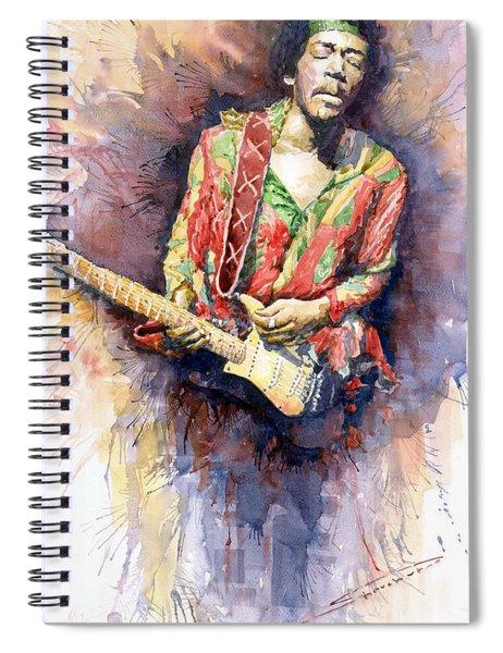 Jimi Hendrix 09 Spiral Notebook