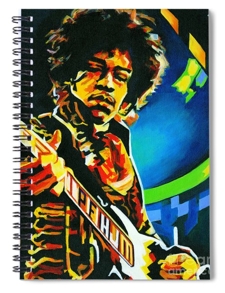 Bold As Love. Jimi Hendrix  Spiral Notebook