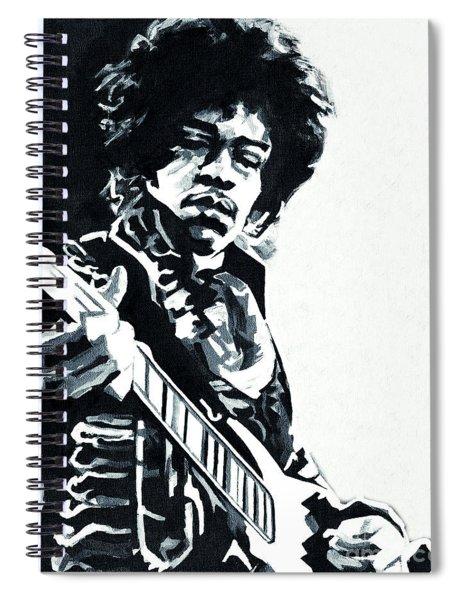 James Marshall Hendrix  Spiral Notebook