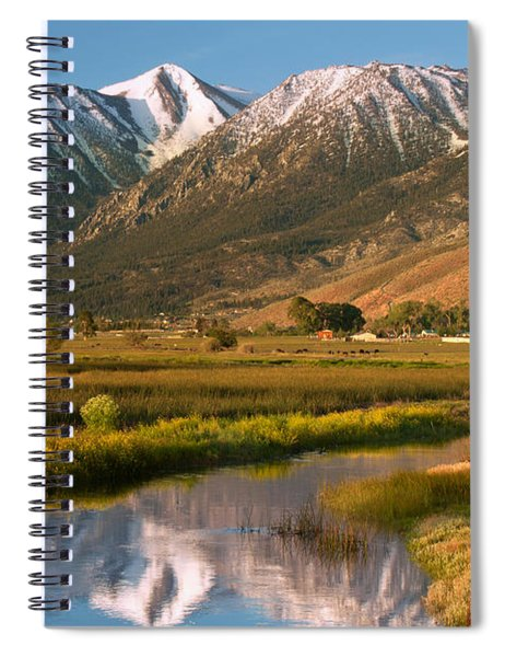 Job's Peak Reflections Spiral Notebook