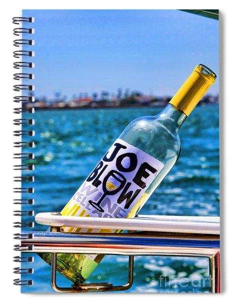 Joe Blow Saves The Day By Diana Sainz Spiral Notebook