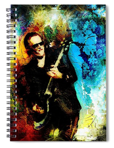 Joe Bonamassa Madness Spiral Notebook