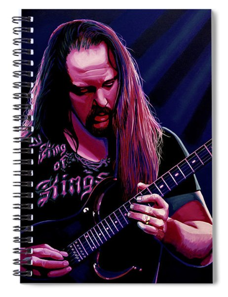John Petrucci Painting Spiral Notebook