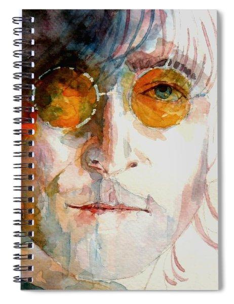 John Winston Lennon Spiral Notebook