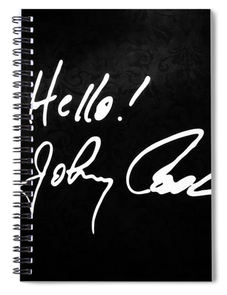 Johnny Cash Museum Spiral Notebook