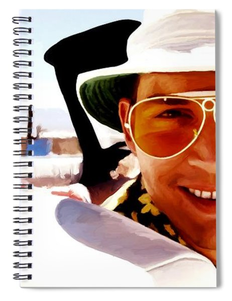 Johnny Depp @ Fear And Loathing In Las Vegas Spiral Notebook