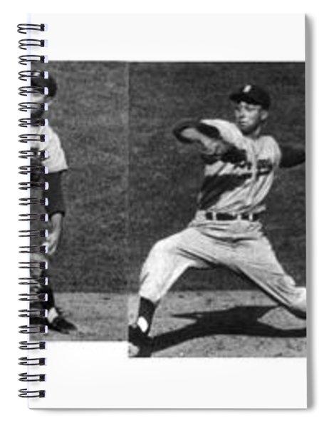 Johnny Podres, American Mlb Player Spiral Notebook