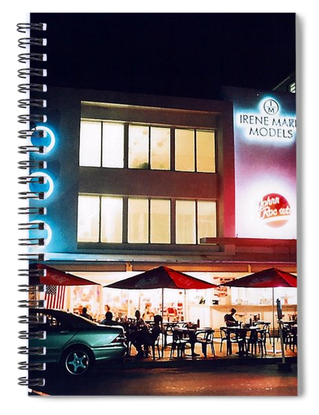 Johnny Rockets Polaroid Spiral Notebook