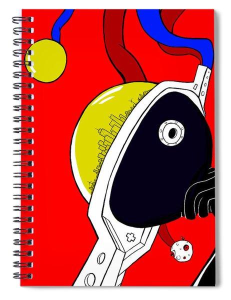 Joker Of Denial Spiral Notebook