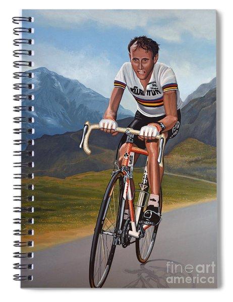 Joop Zoetemelk Spiral Notebook