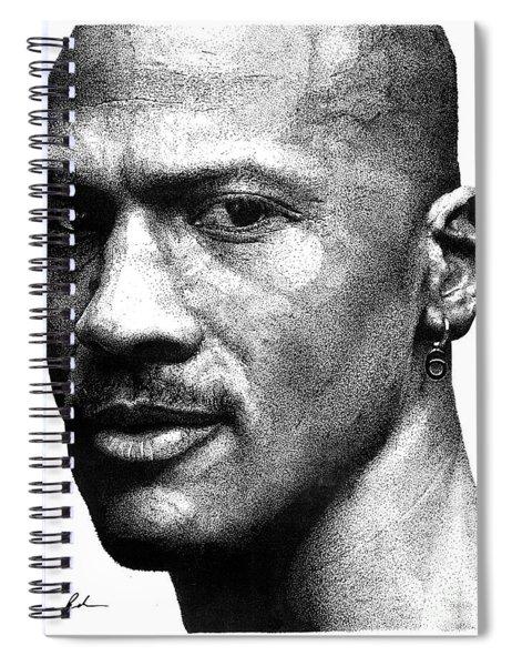 Jordan Dots Spiral Notebook