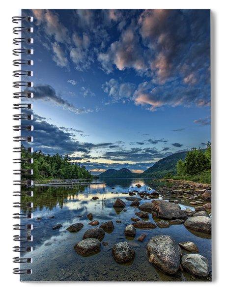 Jordan Pond Spiral Notebook