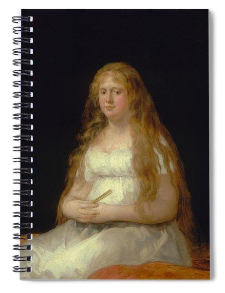 Josefa De Castilla Portugal Y Van Asbrock De Garcini Spiral Notebook