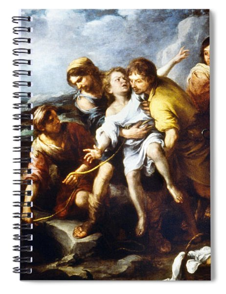 Joseph And His Brethren Spiral Notebook