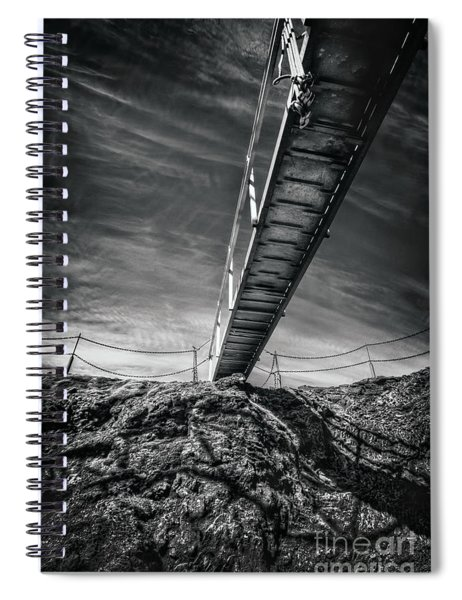 Journey To The Centre Of The Earth Spiral Notebook