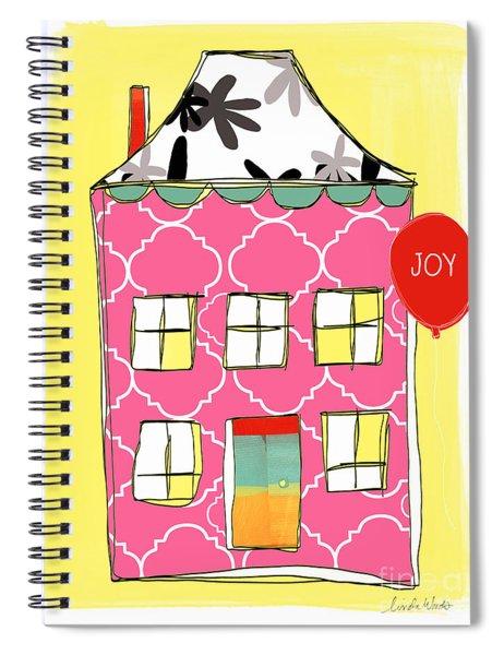 Joy House Card Spiral Notebook