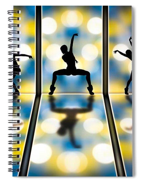 Joy Of Movement Spiral Notebook