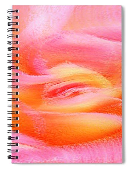 Joy - Rose Spiral Notebook