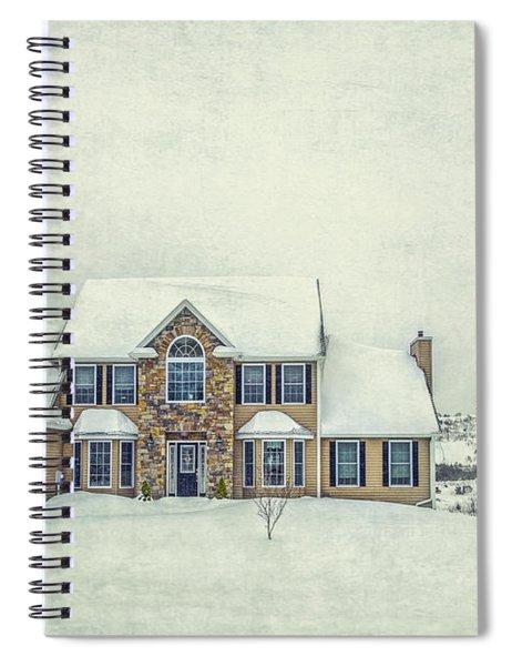 Joyless Trance Of Winter Spiral Notebook