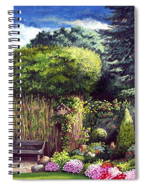Joy's Garden Spiral Notebook
