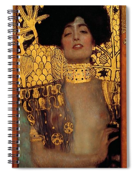 Judith And The Head Of Holofernes Spiral Notebook
