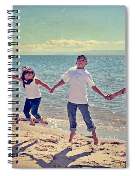 Jump For Joy Spiral Notebook