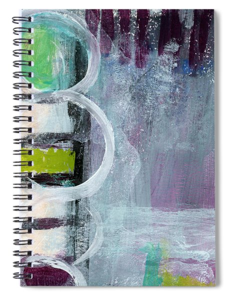 Junction- Abstract Expressionist Art Spiral Notebook