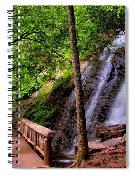 Juney Whank Falls Spiral Notebook
