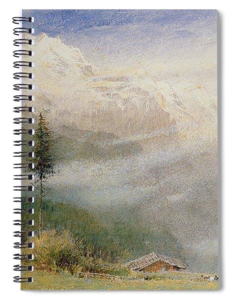 Jungfrau, 1913 Spiral Notebook